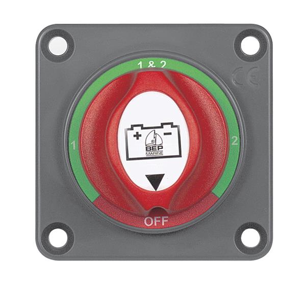 BEP 701s-pm Panel Mounted Battery Switch 200a 1-2-b-o (701S-PM)