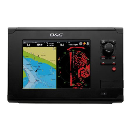 B&G Zeus Touch 8 Multi Function Display with EMEA Download Kit