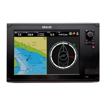 B&G Zeus 12 Touch Multi Function Display With EMEA Download Kit