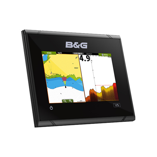 B&G Vulcan5 FS 5-Inch Multi-Touch Chartplotter with Built In Forward Looking Sonar - No Transducer Supplied