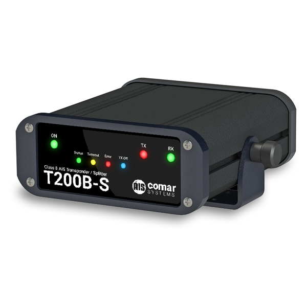 Comar T200B-S Class B AIS Transponder With Built-in Antenna Splitter