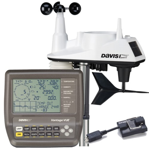 Davis Vantage Vue With USB Weatherlink Data Logger Kit (6510UK) Windows