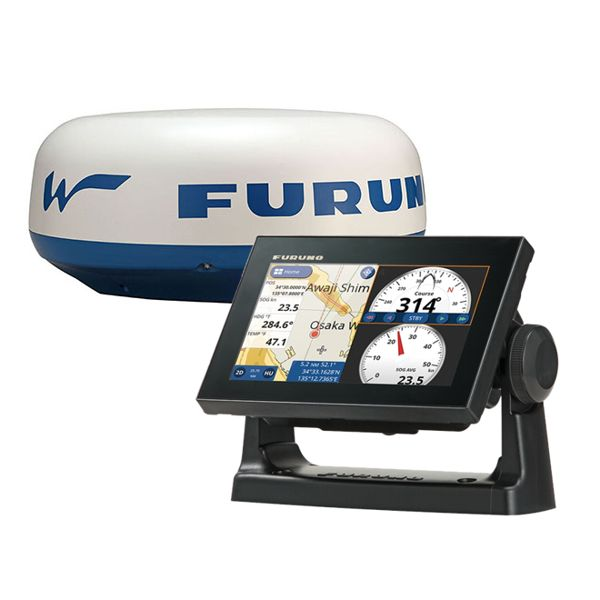 Furuno GP-1871F 7 Inch Plotter / Sounder With DRS4W Wifi Radar & UK & Ireland Chart