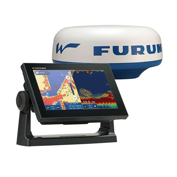 Furuno GP-1971F 7 Inch Plotter / Sounder With DRS4W Wifi Radar & UK & Ireland Chart