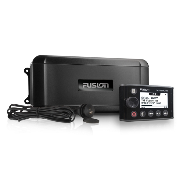 Fusion BB300R Black Box Media Entertainment system c/w NRX300 Wired remote