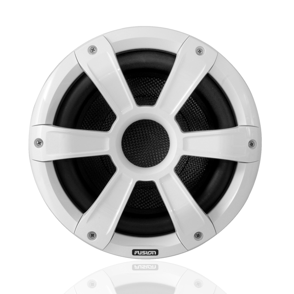 Fusion SG-SL10SPC 10 Inch Marine Signature Sports Subwoofer – White - LED