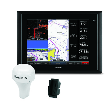 Garmin Gpsmap 8012 With Gps And Card Reader