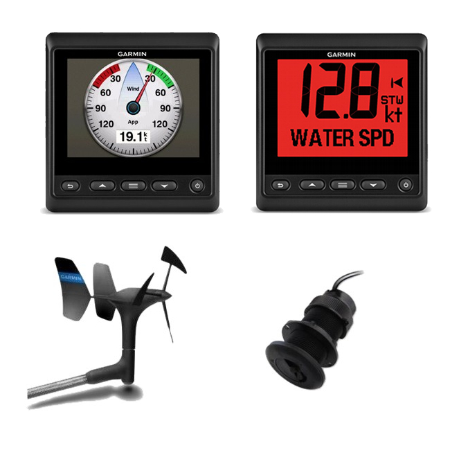 Garmin GMI 20 & GNX 20 Instruments plus gWind & DST800 Depth / Temp / Speed Txd