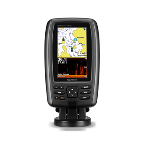 Garmin EchoMAP 45dv 4.3 Inch Plotter / Sonar - DVu With UK + Ireland Charts exc Txd