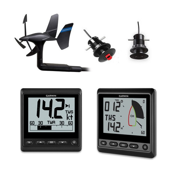 Garmin GNX Wireless Sail Pack With GDT 43 Thru-Hull Transducer
