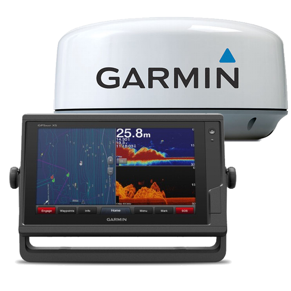 Garmin GPSMAP 922xs With GMR18HD+ Radome & 15m Cable