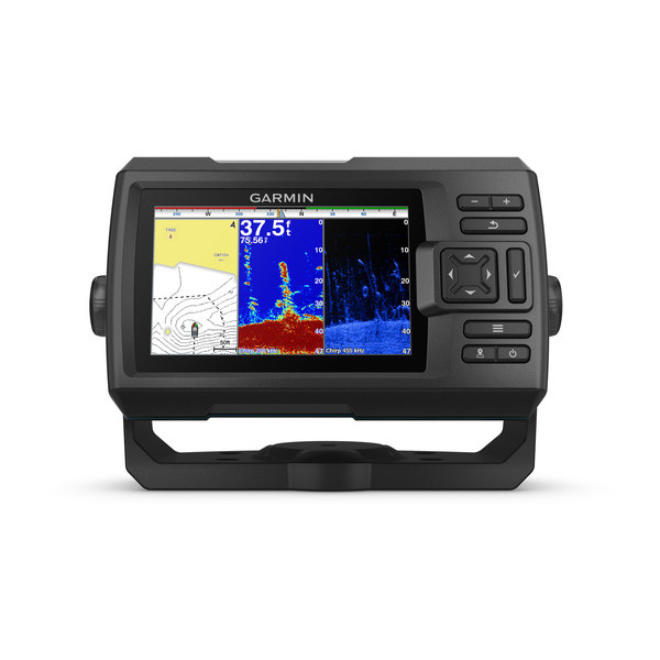 Garmin Striker PLUS 5cv Fishfinder with ClearVu TM Transducer (GT20-TM)