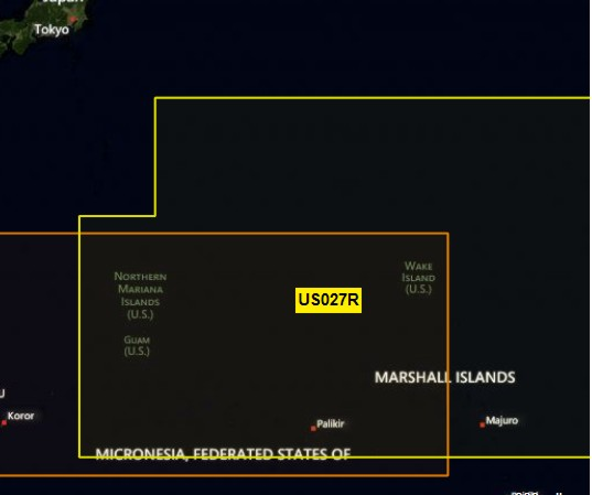 G3 - REG SD - HXUS027R - Hawaiian Islands-Mariana Islands