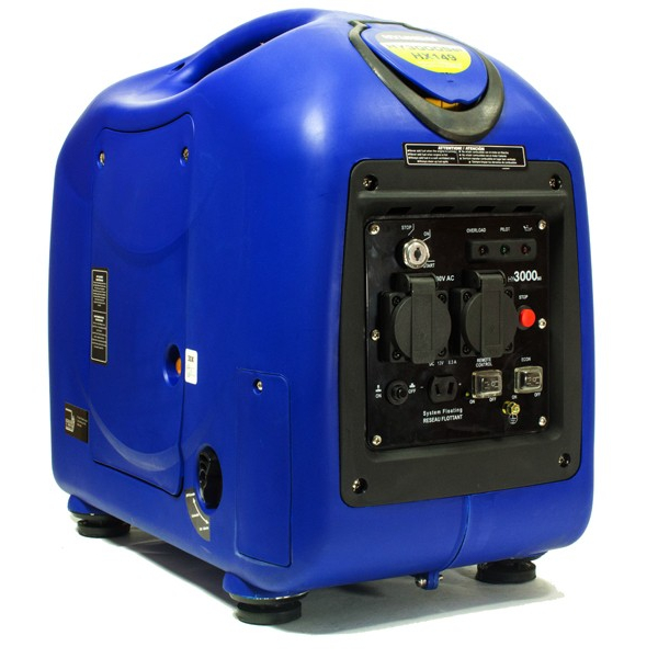 Hyundai HY3000SEi 2800w Petrol Inverter Generator With Elec Start