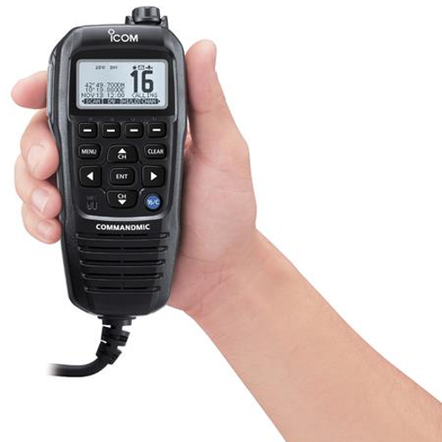 Icom HM-195G Command Mic (GPS model) - Black