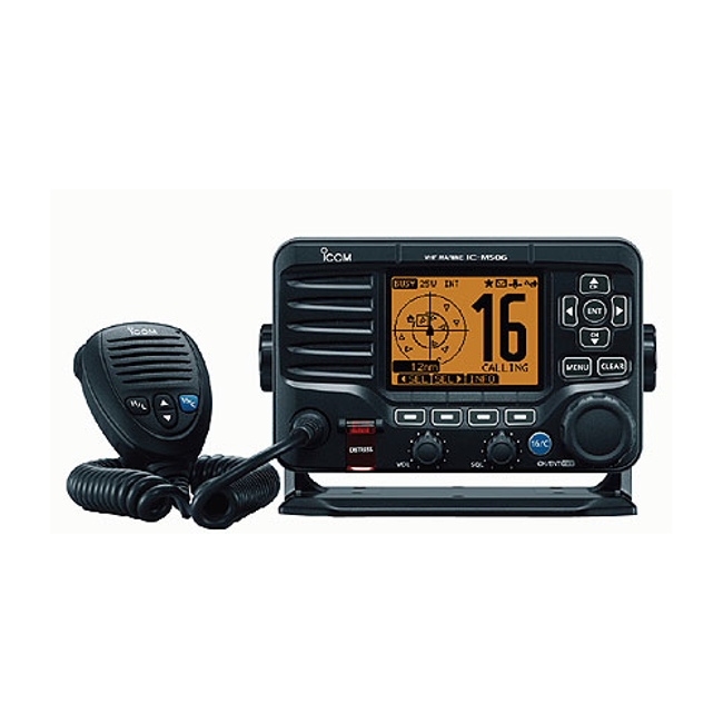 Icom IC-M506 Fixed VHF / DSC Radio with Built in AIS and NMEA 2000