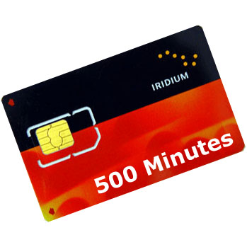 Iridium 500 Minute Pre-Paid Voucher (12 Months Validity)