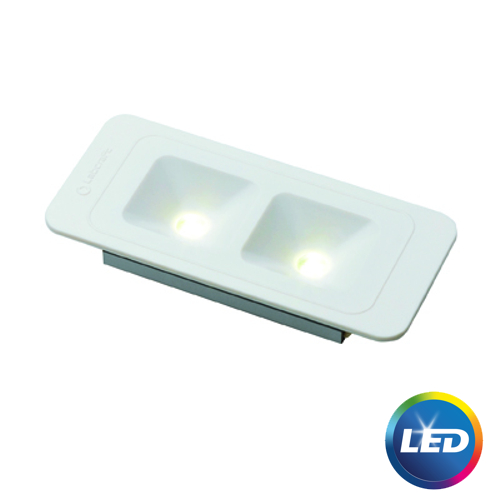 Labcraft Novalux Recessed Switched IP66 LED Light 10-32V 2.5W