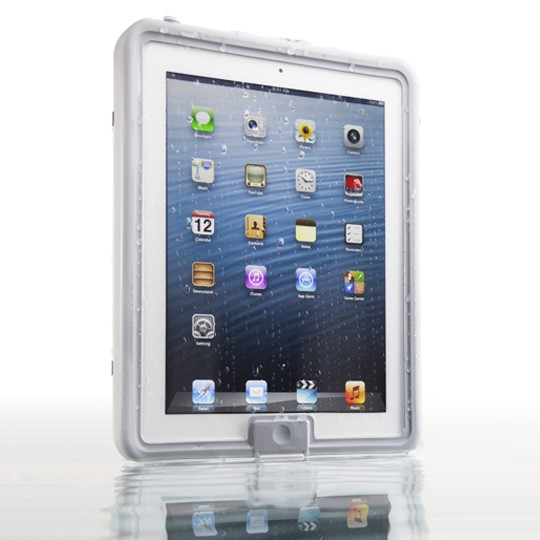 Lifedge Waterproof Case for iPad (new design) - Serac (Light grey)