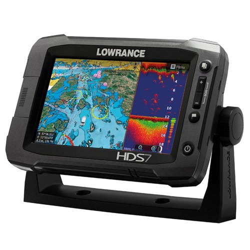 chart plotters lowrance hds 7 gen2 touch built in sounder no transducer. Black Bedroom Furniture Sets. Home Design Ideas