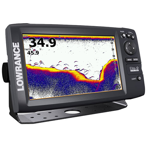 Lowrance Elite-9x Chirp Fishfinder (No Transducer)