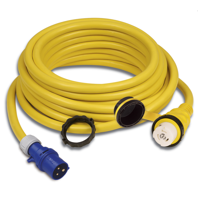 Marinco 32A 15m Shore Power Cordset With EZ Lock