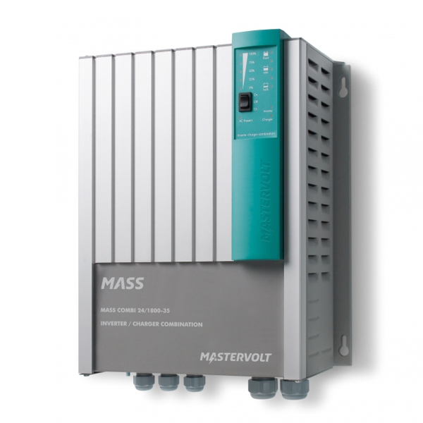 Mastervolt Mass Combi 24v/1800W/35A Inverter/Charger With MasterBus