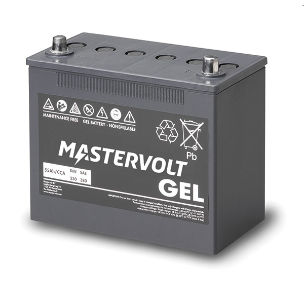 batteries mastervolt mvg gel battery 12v 55ah. Black Bedroom Furniture Sets. Home Design Ideas