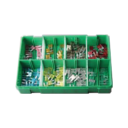 Boxed Assortments 130 Assorted Mini Blade Fuses