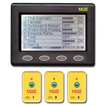 Nasa MOBI Man Over Board System with 3 FOBS