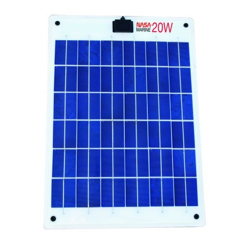Nasa 20W Solar Panel - Semi Flexible