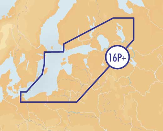 Navionics Platinum+ XL3 P16+ - CF Card - South Baltic