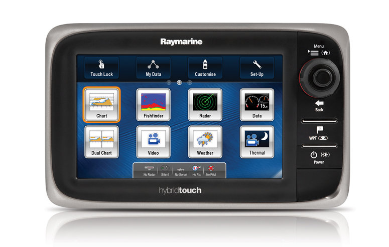 Raymarine E7D Hybrid Multi Touch MFD (No Chart)