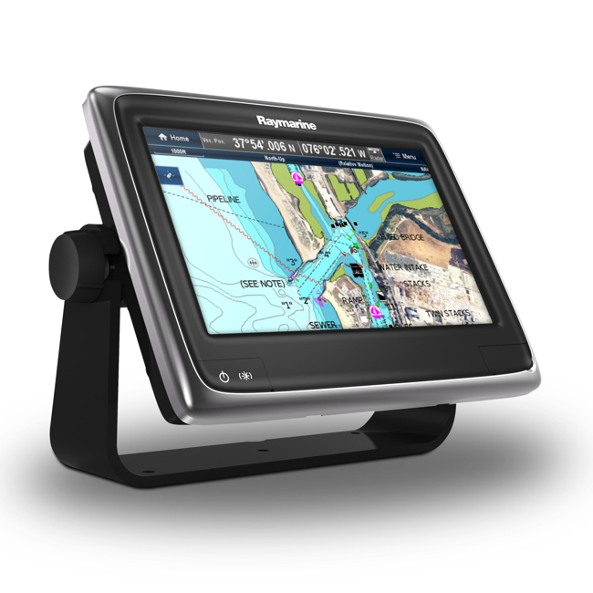 Raymarine A97 9 Inch Multifunctional Display with Built-in Fishfinder and Wi-Fi - No Chart