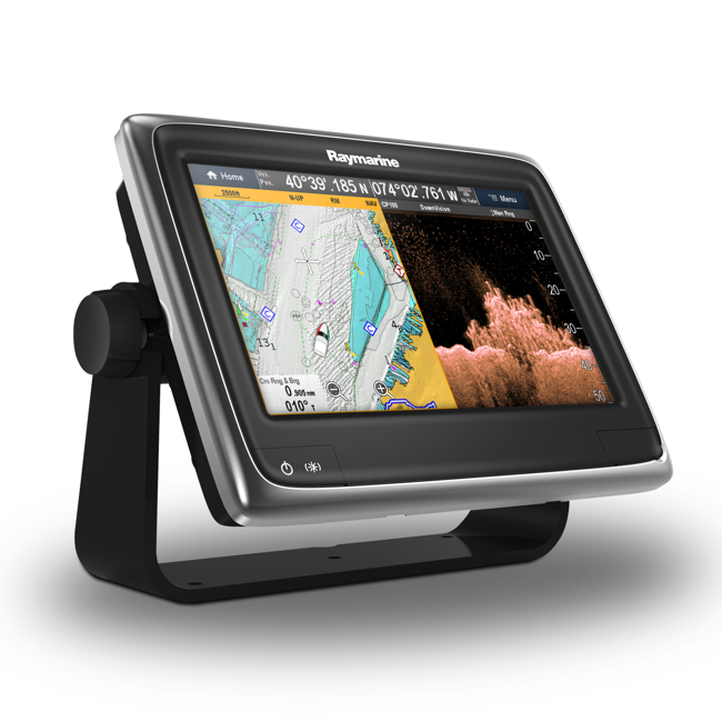 Raymarine A98 9 Inch Multifunctional Display with Built-in DownVision Fishfinder and Wi-Fi - No chart