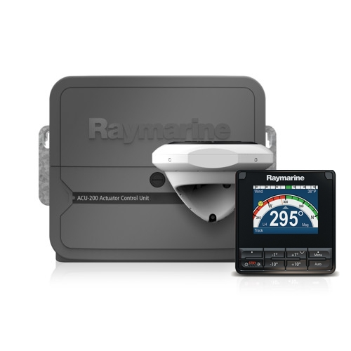 RAYMARINE Evolution Autopilot c/w p70s Control Head & ACU-400 (for Type 2 & 3 drives)