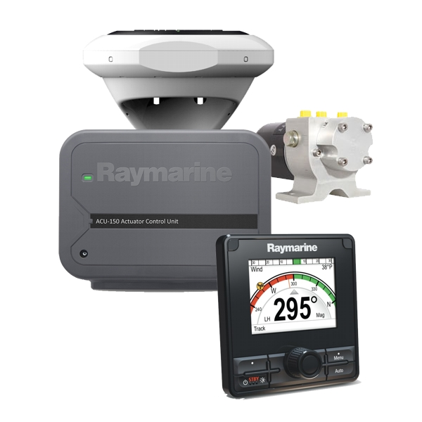 Raymarine Evolution Hydraulic Pilot With p70Rs Control Head. ACU-150 & 1Ltr Hydraulic Pump