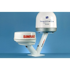 Scanstrut DPT-SR1-60 Dual PowerTower - for radomes & 60cm satcom