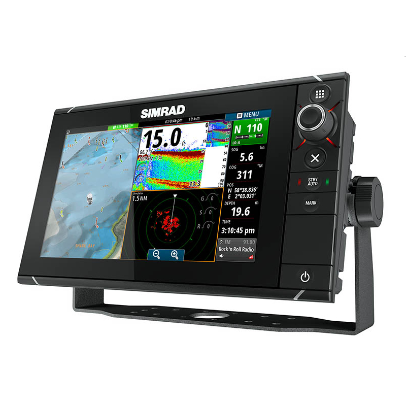 Simrad NSS9 evo2 Combi Display Built-in CHIRP Echosounder and StructureScan