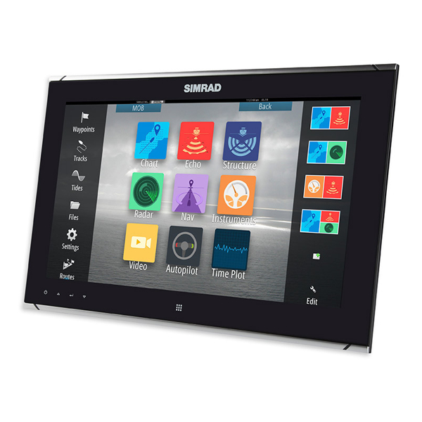 Simrad MO16-T 16 Inch Widescreen High bright, multi-touch monitor. High Definition