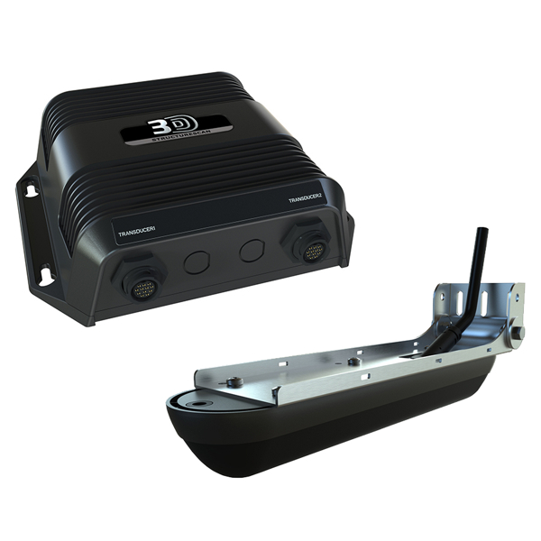 Simrad StructureScan 3D With Module and Transom Mounted Transducer