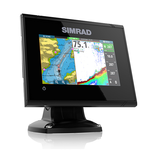Simrad GO5 XSE 5 Inch Plotter / Sounder With No Transducer