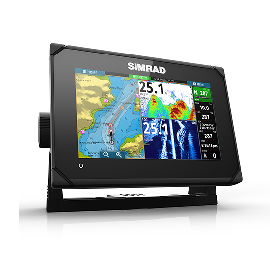 Simrad GO7 XSE 7 Inch Multi-touch Chart Plotter with built in Echosounder - No Transducer