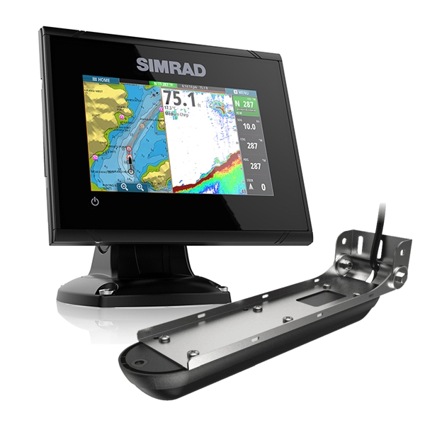 Simrad GO5 XSE 5 Inch Plotter / Sounder With Active Imaging 3 in 1 Transom Transducer