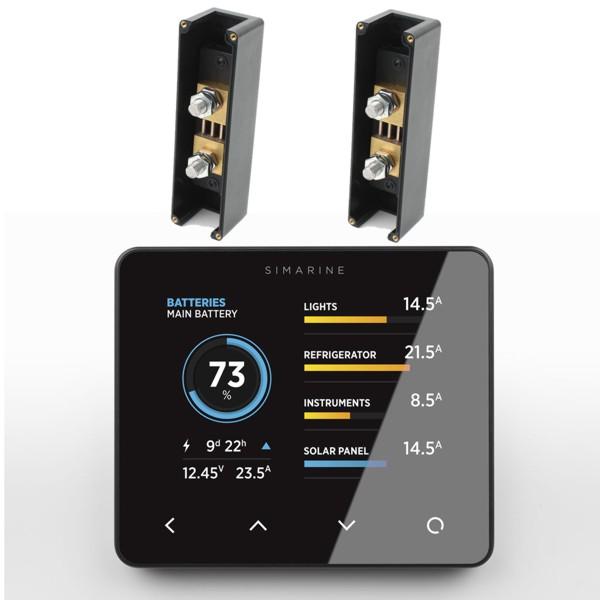 Battery Monitors For Boats : Battery monitors simarine pico monitor