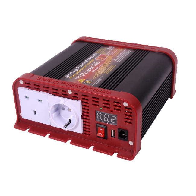 Sterling Pro Power Pure Sine Wave Inverter 12v 200W