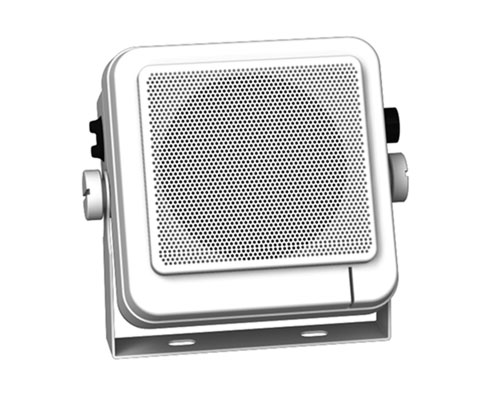 10cm, 4-ohm Deluxe External Speaker With Swivel Bracket And Buil