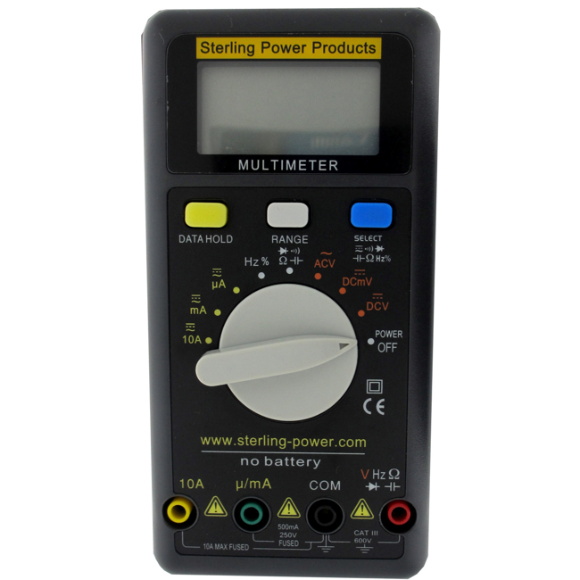 Sterling Wind-up Portable Multi Meter