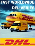 Worldwide Deliveries via DHL